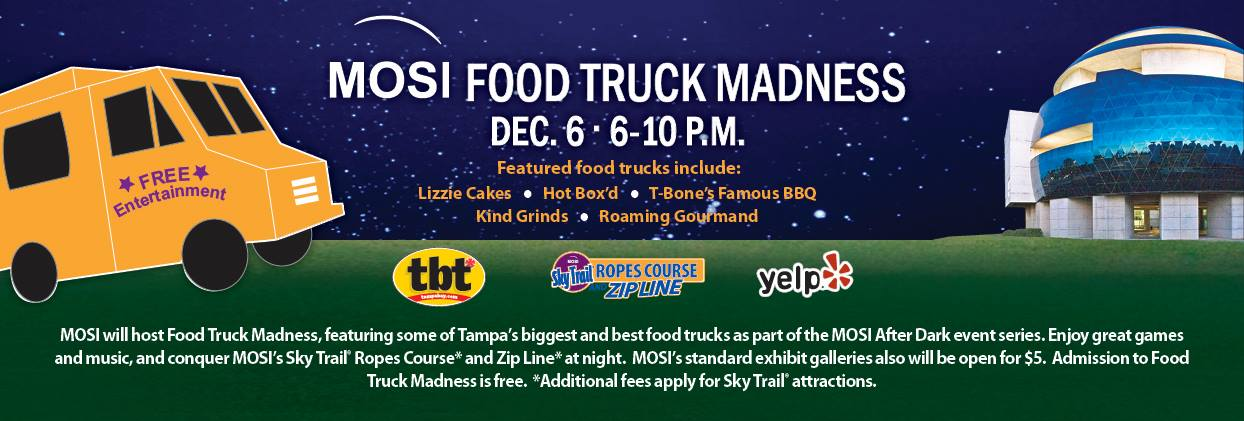 December 6, 2013 MOSI Food Truck Madness
